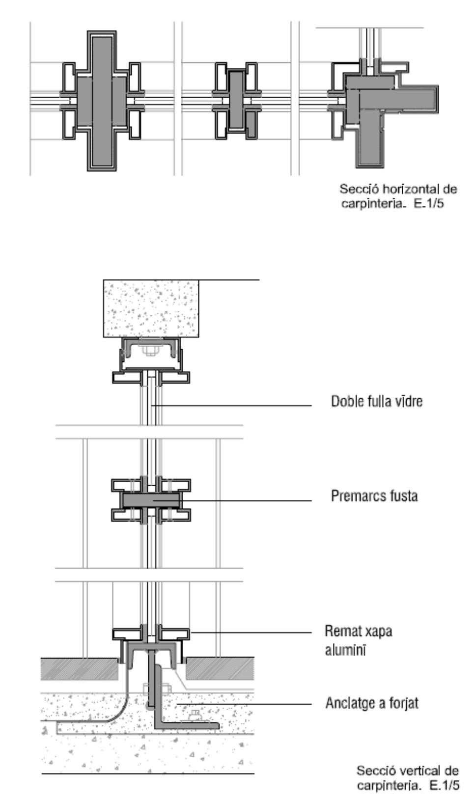 Bacardi detalle carpinteria wikiarquitectura - Detalle carpinteria aluminio ...