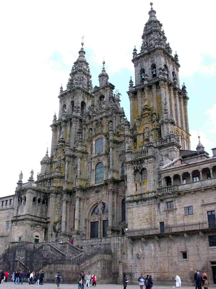 Catedral De Santiago De Compostela Dados Fotos E Planos Wikiarquitectura