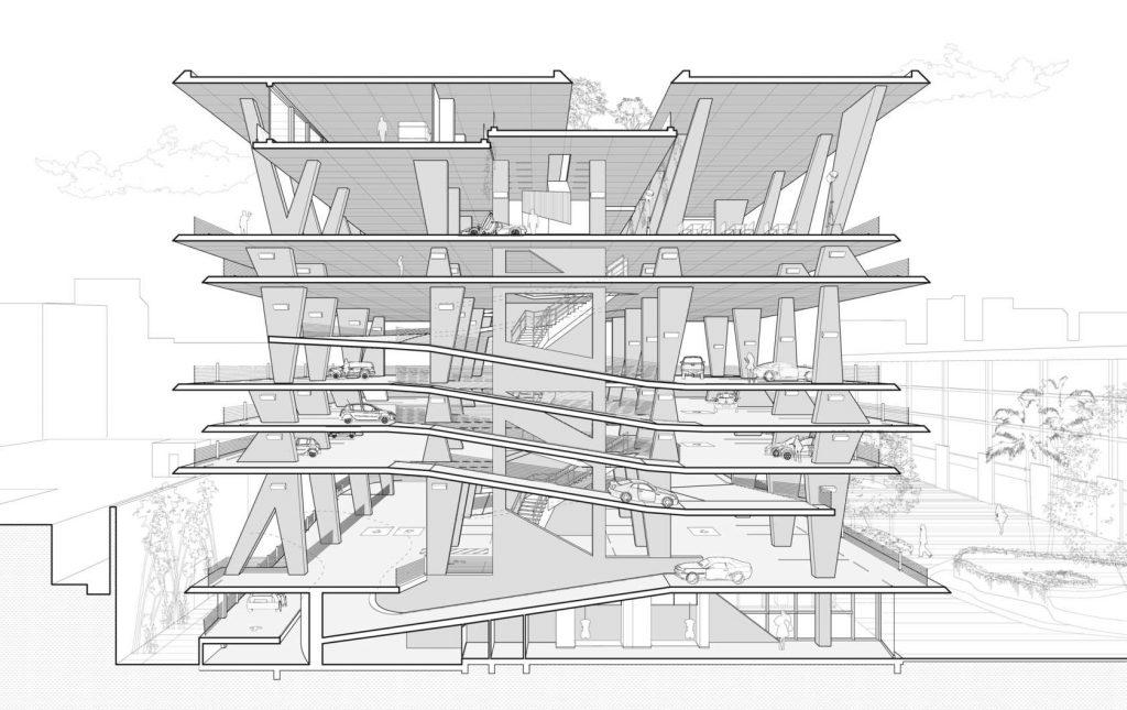 1111 Lincoln Road Drawings Herzog De Meuron 07 Wikiarquitectura