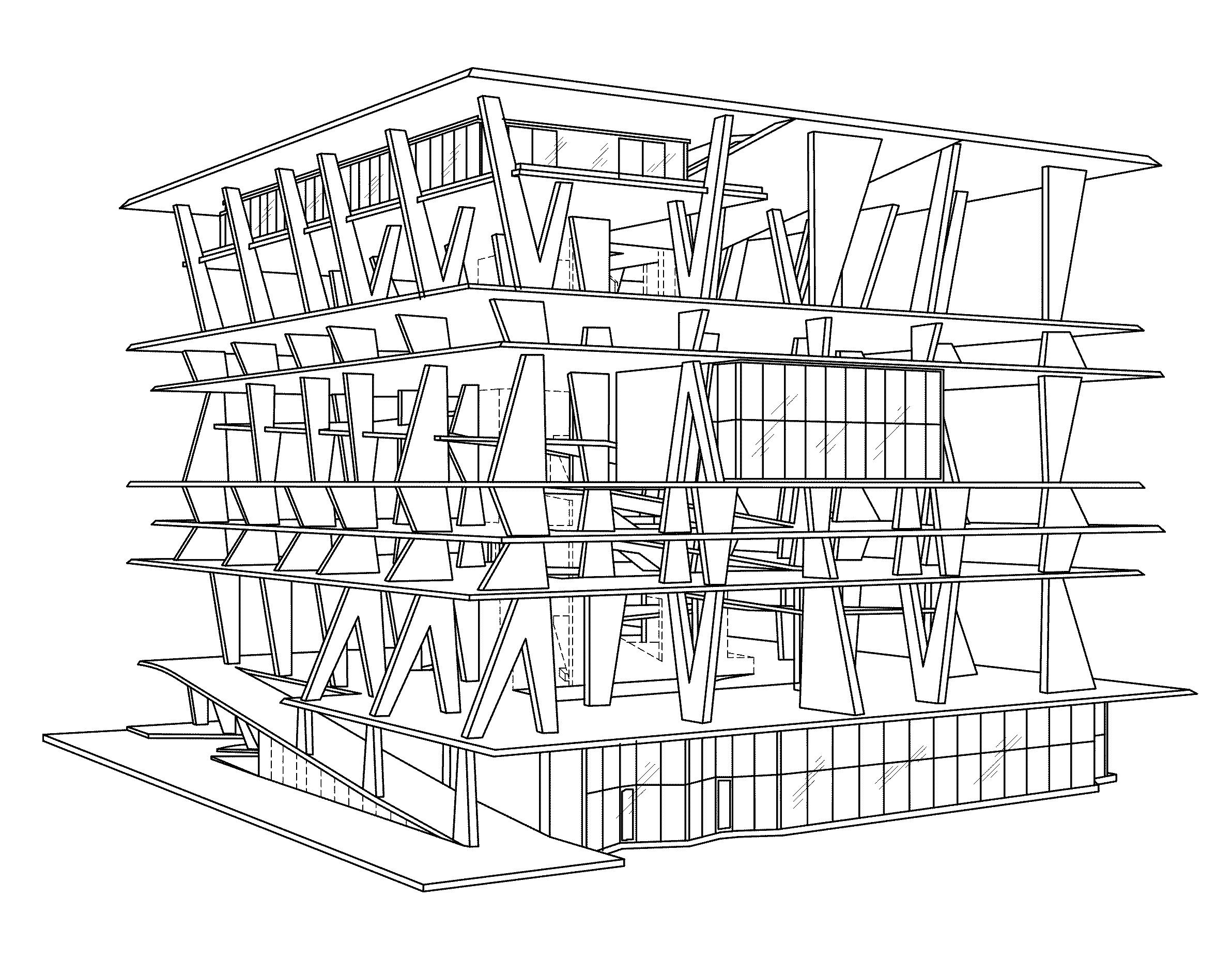 1111 Lincoln Road Drawings Herzog De Meuron 08 Wikiarquitectura